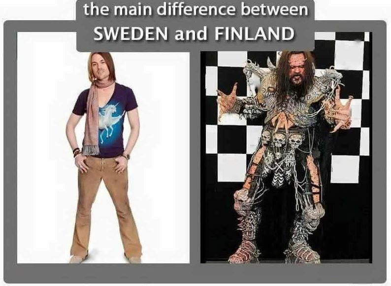 Finalnd Sweden